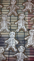 photograph of gingerbread cookies